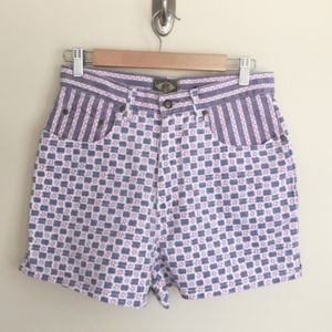 Vintage NWT Express high waist denim shorts